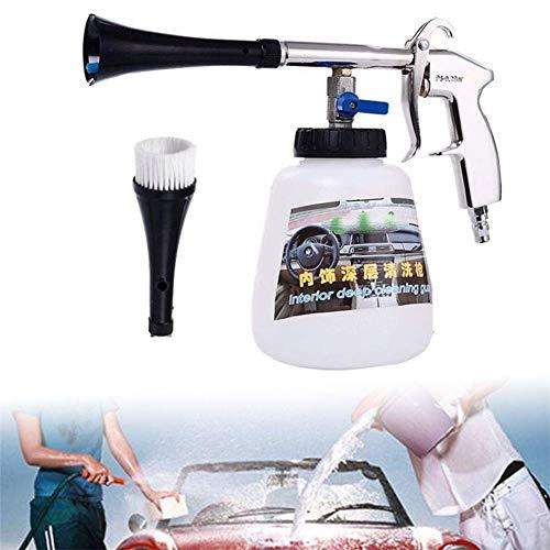 ZGYQGOO Reinigungspistole Fußmatten Waschpistole Druckluft Innenraum, automatische Druckluft-Reinigungspistole mit Autoschaumreiniger
