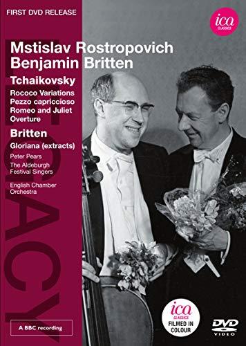 Mstislav/English Cham Rostropovich - Rococo Variations/Pezzo Capriccioso