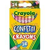 Crayola Confetti Crayons, Multi Color...