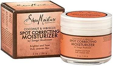 Shea Moisture Coconut & Hibiscus Radiance Moisturizer For Dull Skin 2 oz