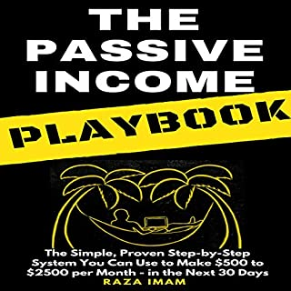 Page de couverture de The Passive Income Playbook