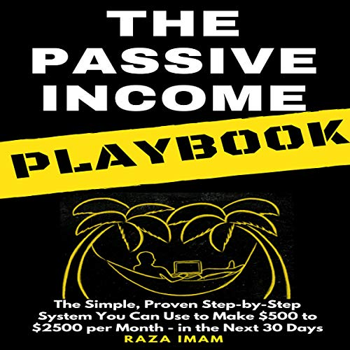 The Passive Income Playbook audiobook cover art