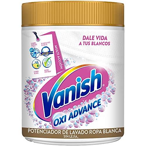 Vanish Oxi Advance - Quitamanchas Y Blanqueador Para Ropa Blanca, En Polvo, Sin Lejía 800 g
