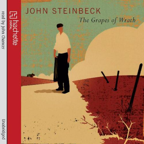 The Grapes of Wrath                   By:                                                                                                                                 John Steinbeck                               Narrated by:                                                                                                                                 John Chancer                      Length: 19 hrs and 58 mins     1,176 ratings     Overall 4.7