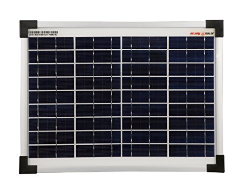 enjoy solar® Poly - Panel solar (10 W, 12 V)