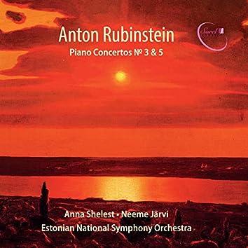 Rubinstein: Piano Concertos Nos. 3 & 5