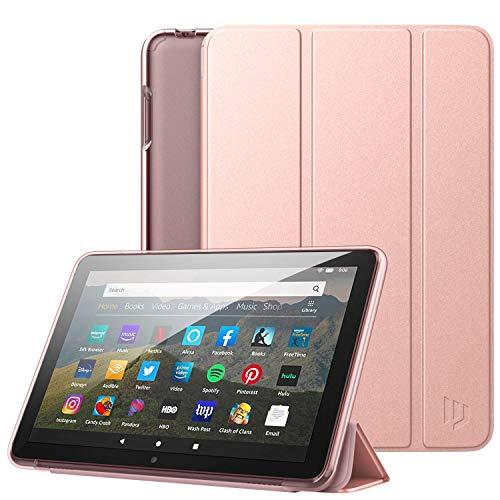 Dadanism Étui Compatible avec Kindle Fire HD 8 2020, Léger Antichoc avec Translucide Protecteur en TPU pour Fire HD 8...