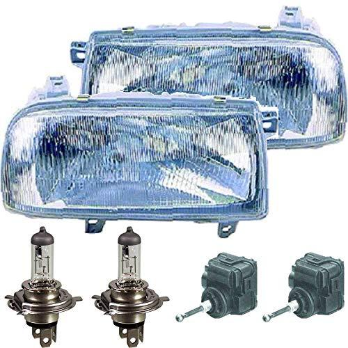 Scheinwerfer Set Vento 1H2 92-98 inkl. PHILIPS Lampen Motor