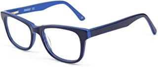Blue Light Shield Computer Reading/Gaming Glasses for Kids- 0.0 Magnification - Anti Blue Light UV Protection Low Color Di...