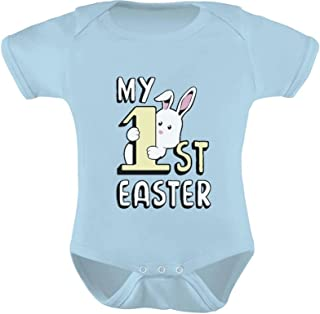 my 1st easter baby grow