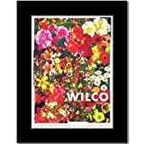 Music Ad World Wilco Poster UK Tour 2007, matt, 35,6 x 25,4