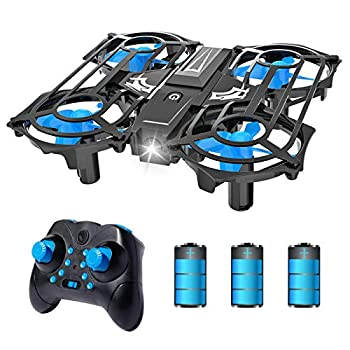 NEHEME NH320 Mini Drones for Kids and Beginners RC Small Quadcopter Drone with 3 Batteries 3D Flip Speed Adjustment & Altitude Hold Flying Toys for Boys and Girls Gift