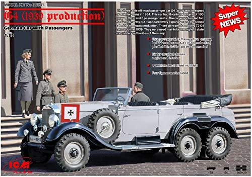 ICM- Maqueta, hobby, montaje, detallado. (35531) , color/