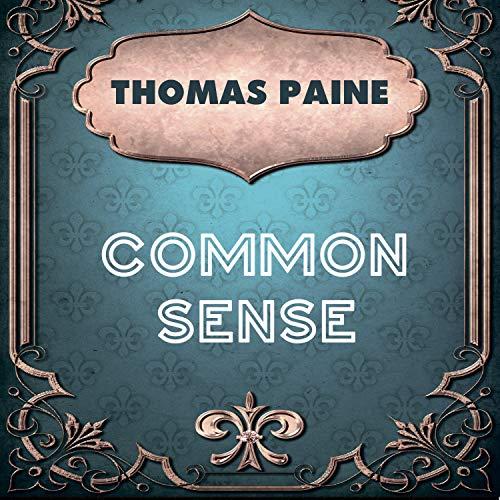Common Sense audiobook cover art