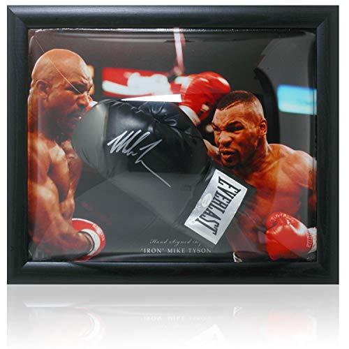 Mike Tyson Boxhandschuh, handsigniert