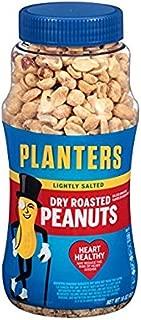planters lightly salted dry roasted peanuts 16 oz