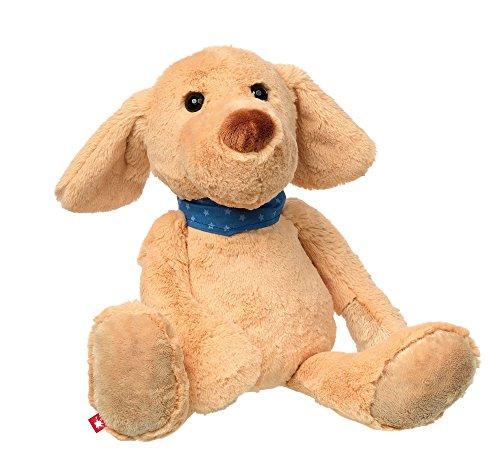 sigikid, Mädchen und Jungen, Stofftier Hund groß, Glen Glattstett, Sweety, Beige, 38812