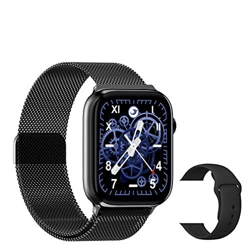 Smartwatch 3aGenerazione 1,75   Per Uomo Donna Bambini Orologio Fitness Telefono Chiamate Con Cardiofrequenzimetro Da Polso Activity Tracker Digitale Smart Watch Saturimetro Contapassi AssistVocale