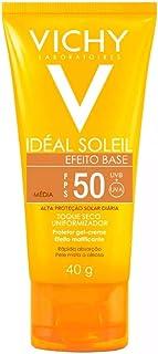Protetor Solar Idéal Soleil Efeito Base Clara FPS 50 Gel Creme Com Cor 40g