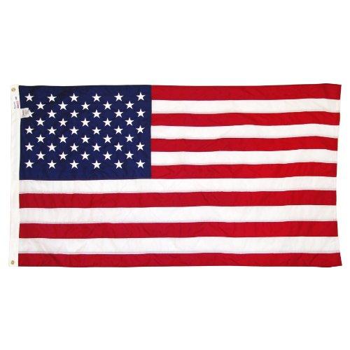 Online Stores Drapeau américain en nylon, 9,5 x 15,2 cm.