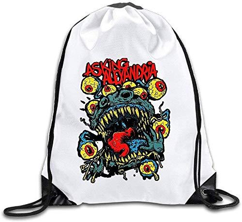 Unbekannt DoDoUp Rucksack mit Kordelzug Asking Alexandria Denis Stoff Danny Worsnop Drawstring Backpack Sack Bag