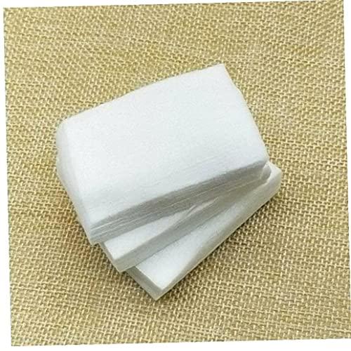 325 piezas de toallitas de algodón sin pelusa para uñas, removedor de esmalte en gel para uñas, toallitas de algodón absorbentes suaves para uso de moda o bricolaje, suministros para el cuidado de la