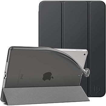 Dadanism Custodia Protettiva per iPad 8. Generation 2020/iPad 7. Generation 2019, Case in TPU Morbido, Ultra Sottile e Leggera, Auto Sveglia/Sonno, Cover per iPad 10.2 2020/2019, Grigio Siderale