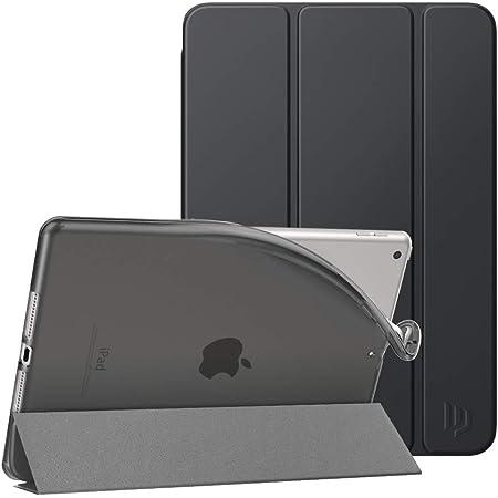 iPad 10.2 ケース 2020/2019 iPad 8/7 ケース Dadanism 第8世代/第7世代 iPad 10.2インチ 2020/2019モデル カバー スタンドケース PU+TPU オートスリープ機能 軽量 薄型 マイクロファイバー裏地 耐久性 保護 SpaceGray