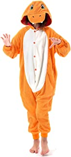 Beauty Shine Unisex Child Charmander Costume Halloween Cosplay Pajamas