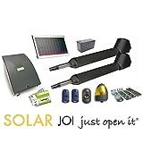 SW7000 T SOLAR automatisme kit motorisation DUCATI HOME pour portail battant Solaire 100% sans fil ouvre portail