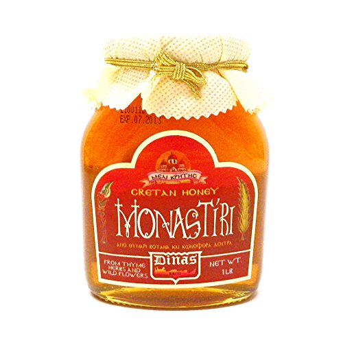 Cretan Greek Monastiri Wildflower & Thyme Honey