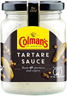Colmans Tartare Sauce Jar 144g (Pack of 3)