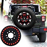 omotor for Jeep Third Brake Light Spare Tire Brake Light for 2007-2020 Jeep Wrangler JK JL Unlimited Rubicon Sahara...