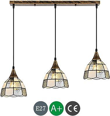 Wofi Action Max - Lámpara de techo colgante (4 luces), color ...