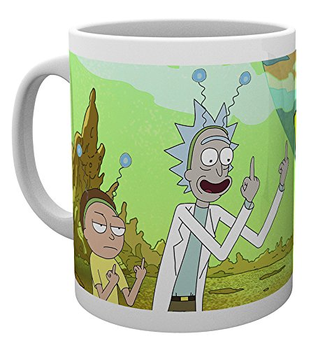 Mug Rick & Morty - Peace - GB Eye