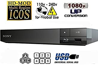 WGC Sony BDP-S1500 Region Free Blu Ray Player Pal/NTSC Zone A B C Rigion 012345678 will play