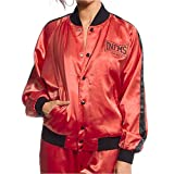 GRIMEY Chaqueta Bomber Chica The Gatekeeper FW17 Brick Red-S