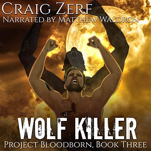 Wolf Killer audiobook cover art