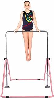 Safly Fun Gymnastics Bars Expandable Children's Training Monkey Folding Bars Climbing Tower Child Play Training Gym