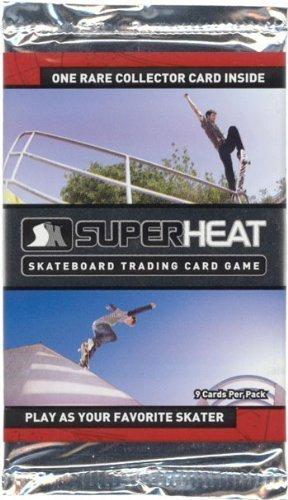 Super Heat Skateboard Trading Card Game Throwdown Booster Pack by super heat games