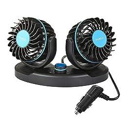 Image of Car Fan 12V, Electric Car...: Bestviewsreviews