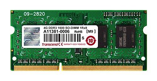 Transcend TS8GJMA424H JetMemory Memory Module 8GB (2x 4GB, 1600MHz, CL11) for Various iMac/Macbook Pro/Mac mini DDR3-RAM Kit