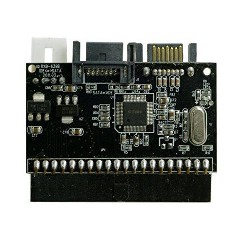 Doppio adattatore convertitore reversibile per disco rigido da SATA 7PIN a CY IDE 100 133 PATA