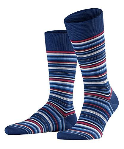 FALKE Herren Microblock M SO Socken, Blau (Royal Blue 6000), 43-44