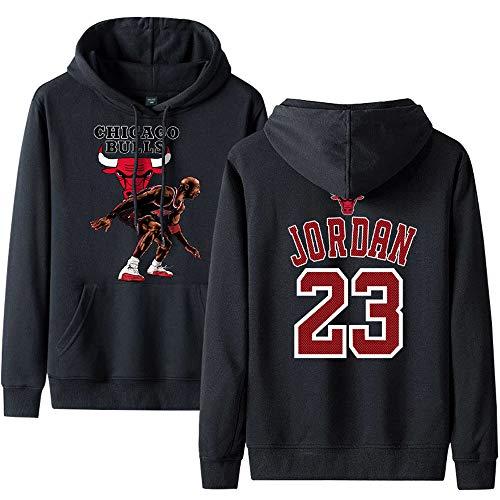 Bulls Man No23 Pullover Hoodie Basketball Sport Pullover Herren Frühling und Herbst Winter Hoodie 7-3XL