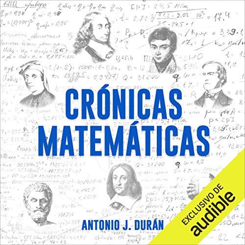 Diseño de la portada del título Crónicas matemáticas