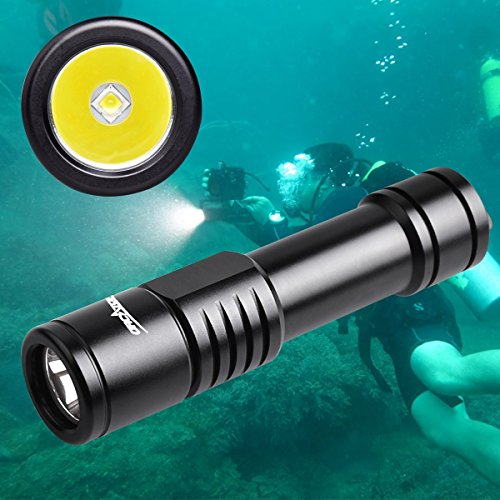 ORCATORCH D520 Scuba Dive Light 1000 Lumens Waterproof Diving Torch Submarine Diving Safety Lights Underwater Diving Flashlight