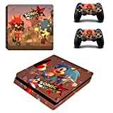 TSWEET Sonic Forces Skin para Playstation 4 Slim Ps4 Slim Skin...
