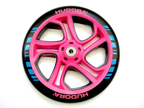 HUDORA Ersatzteile : 1 Ersatzrolle für Scooter CLVR 215 blau pink