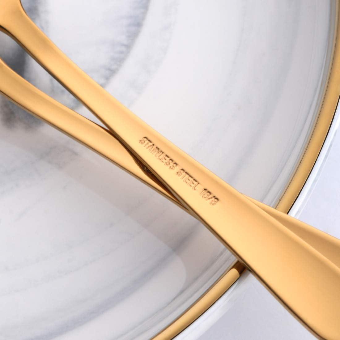 de acero inoxidable 18//10 14 cm Buyer Star Juego de 12 cucharillas de caf/é reutilizables 12 unidades Arco iris 2